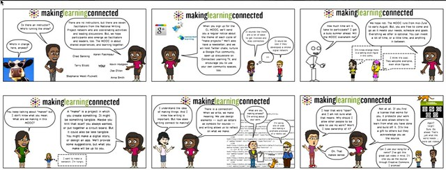 The Making Learning Connected FAQ Comic Collection
