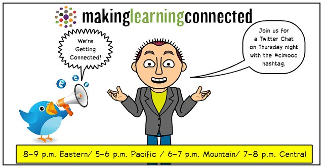 Making Learning Connected Twitter Chat