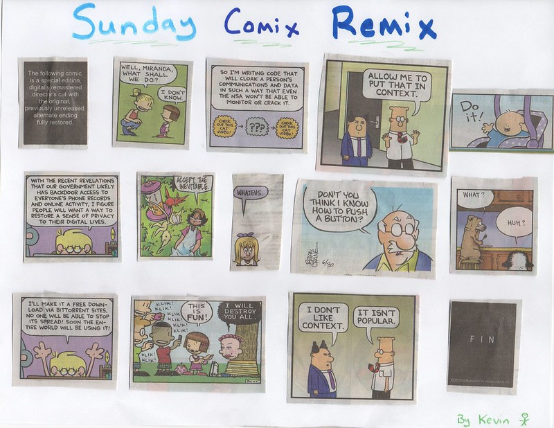 Remixing the Sunday Comics