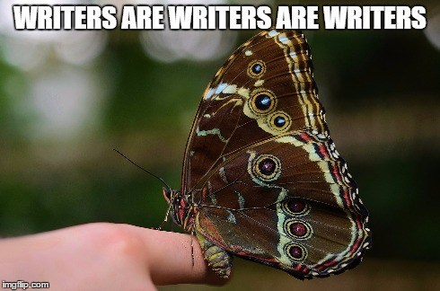 Writers Are Writers Are Writers