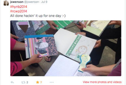Hack Your Notebook Day... Reflection from A Teacher