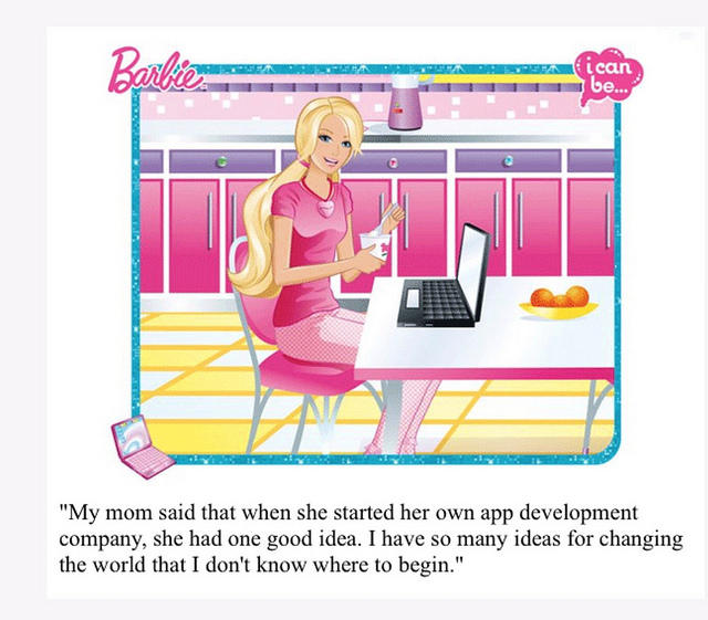 Hacking Barbie (and Breaking Gender Stereotypes)