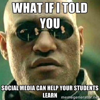 3 Benefits Of Teaching With (or Through) Social Media