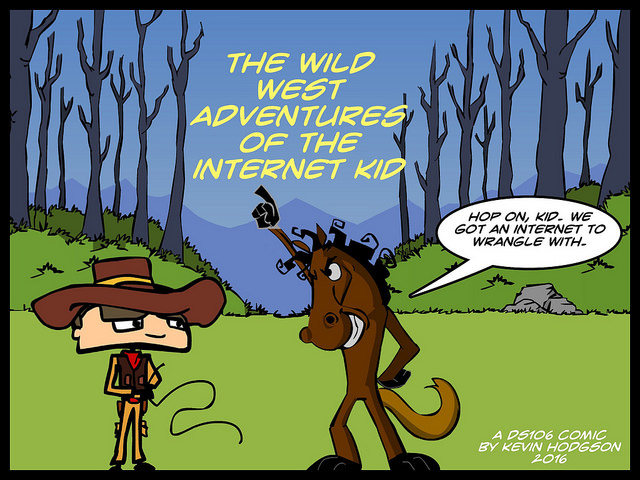Twenty+ Comics In: Checking In On The Internet Kid