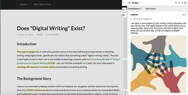 Defining Digital Writing (A Modest Proposal)