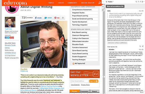 #CLMOOC #DigiWrimo: Sifting Through Words From the Margins