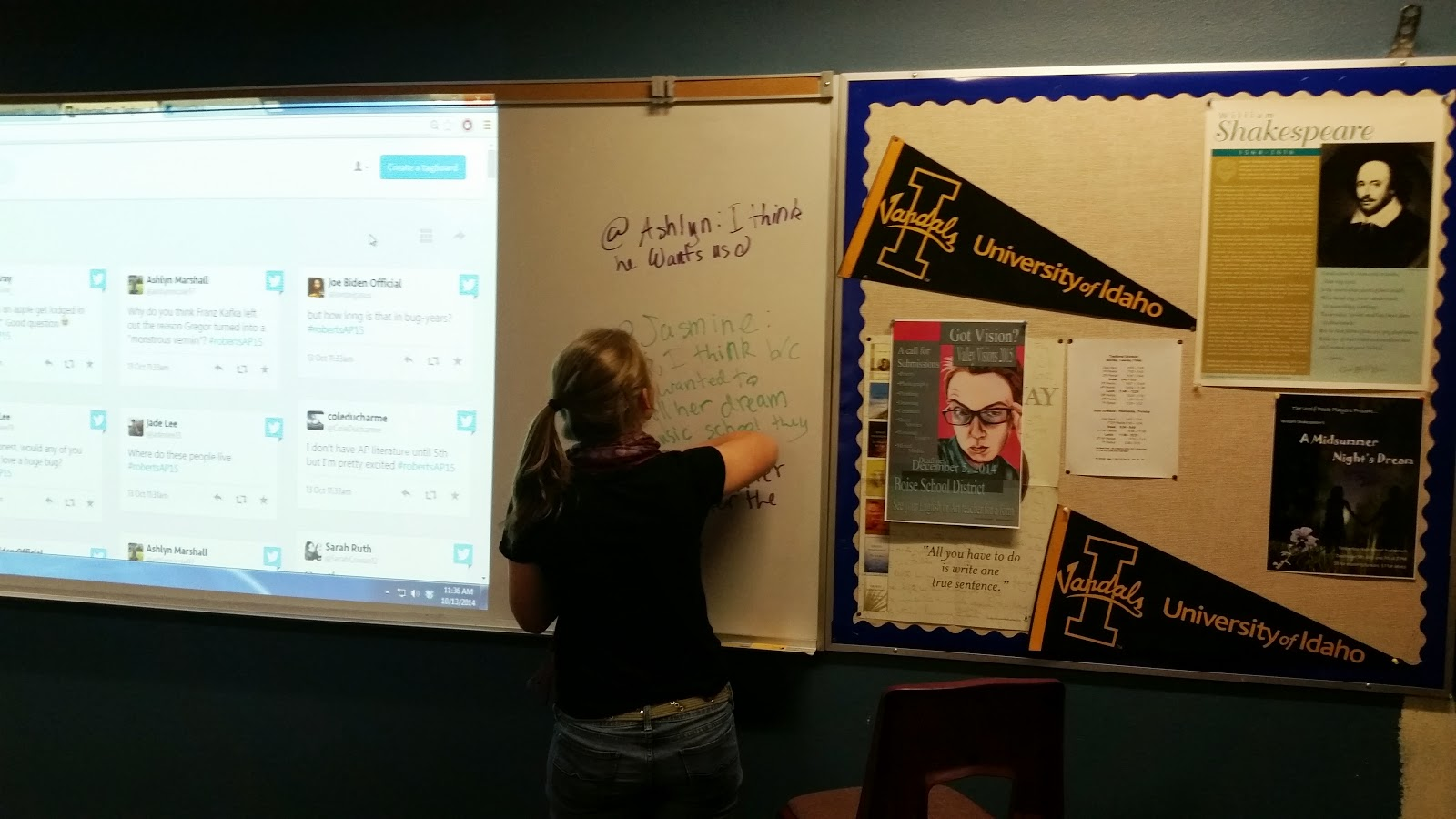Risky Teacher: The Twitter Debrief