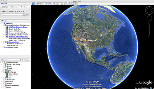 Crafting Stories with Google Earth