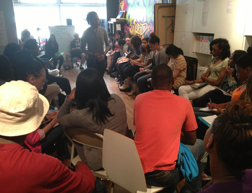 Remixing Literacy at Urban Word NYC