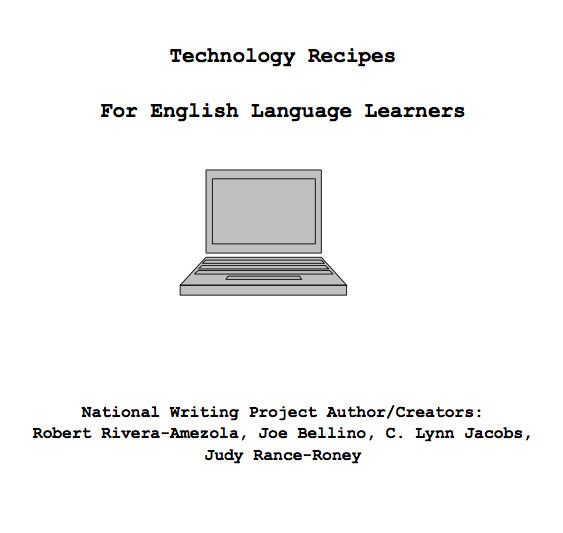 Technology Recipes for English Language Learners