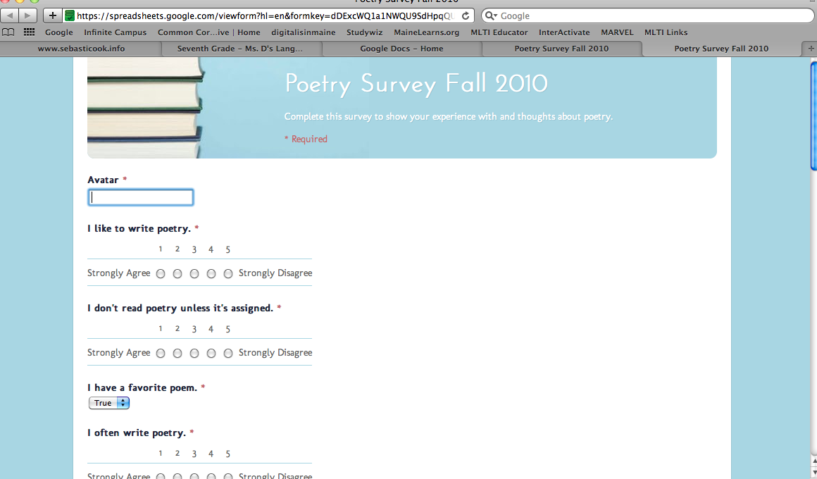 Using Digital Media to Enhance Student Experience with Poetry at the Middle Level
