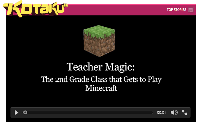 Minecraft Teacher