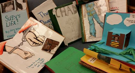 Social justice through STEAM: Making pop-up books to connect students, content, and community