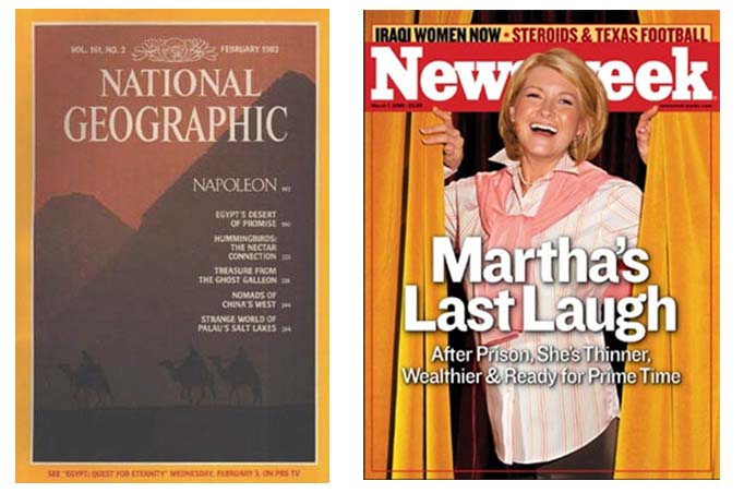"When Images ""Lie"": Traveling to the Pyramids with National Geographic and Thinking about Photo Illustrations with Martha Stewart"