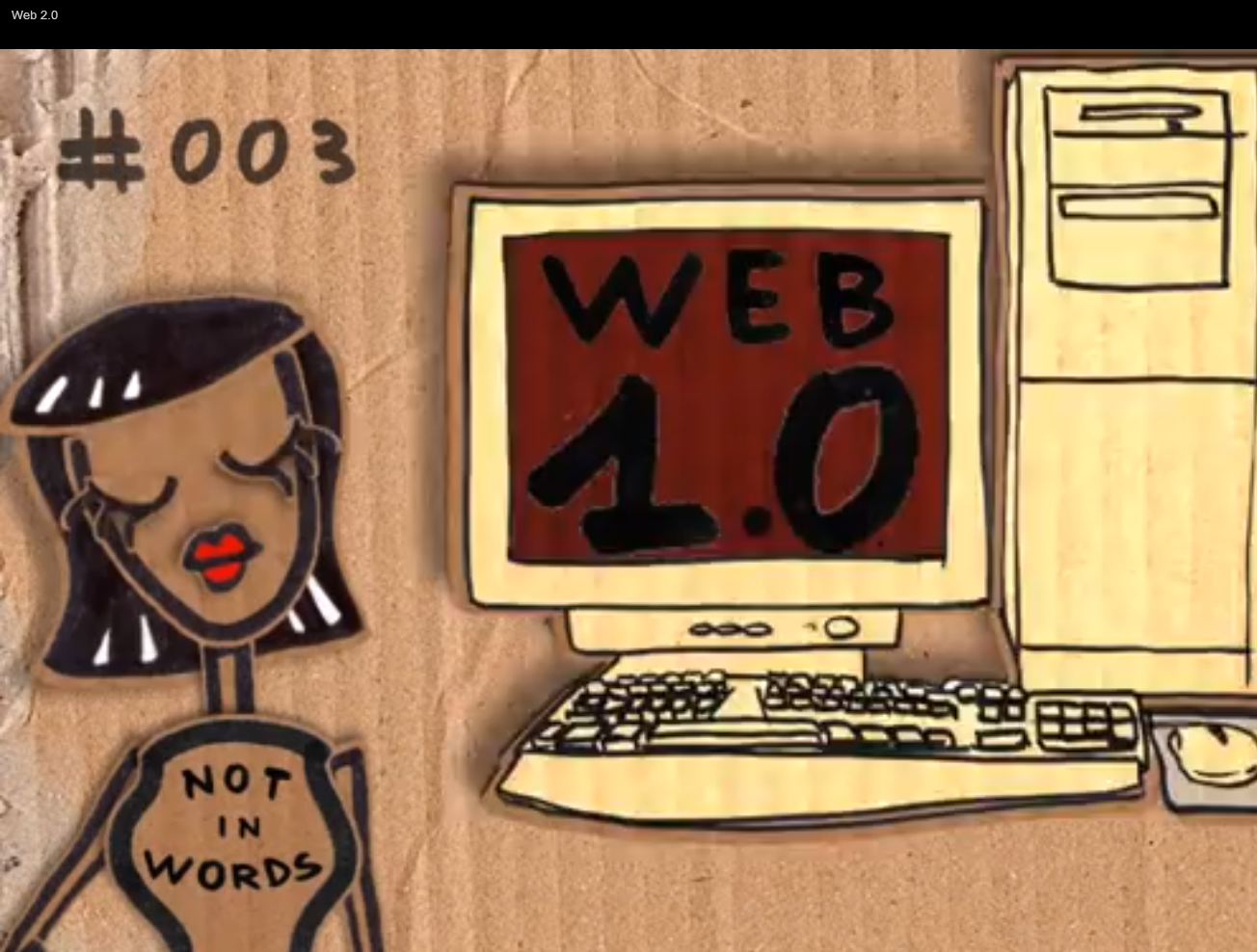"""Web 2.0 Not in Words"" by the Not in Words Project"