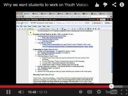 Youth Voices and Connected Learning