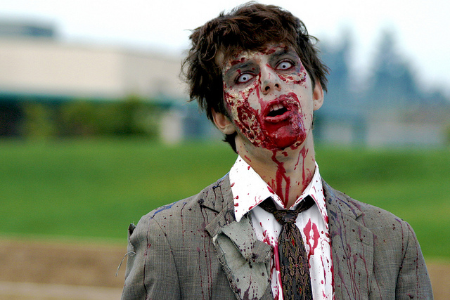 """Taking the Zombie-like Expression Off of Student Faces…Using Zombies"""