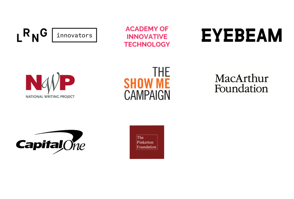 Logos of Funders and Active Participants