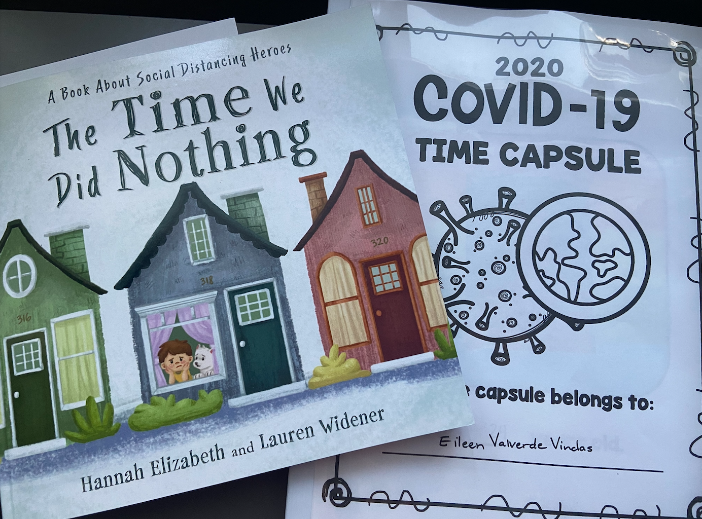 My COVID Time Capsule (NWP) Event