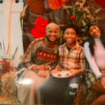 Semaj, his mother and his sister